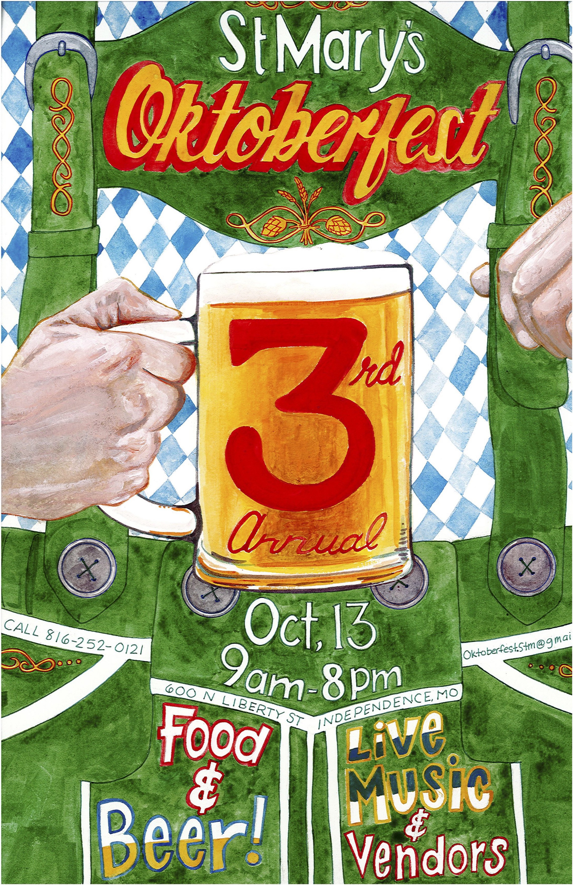 Oktoberfest 3 Poster