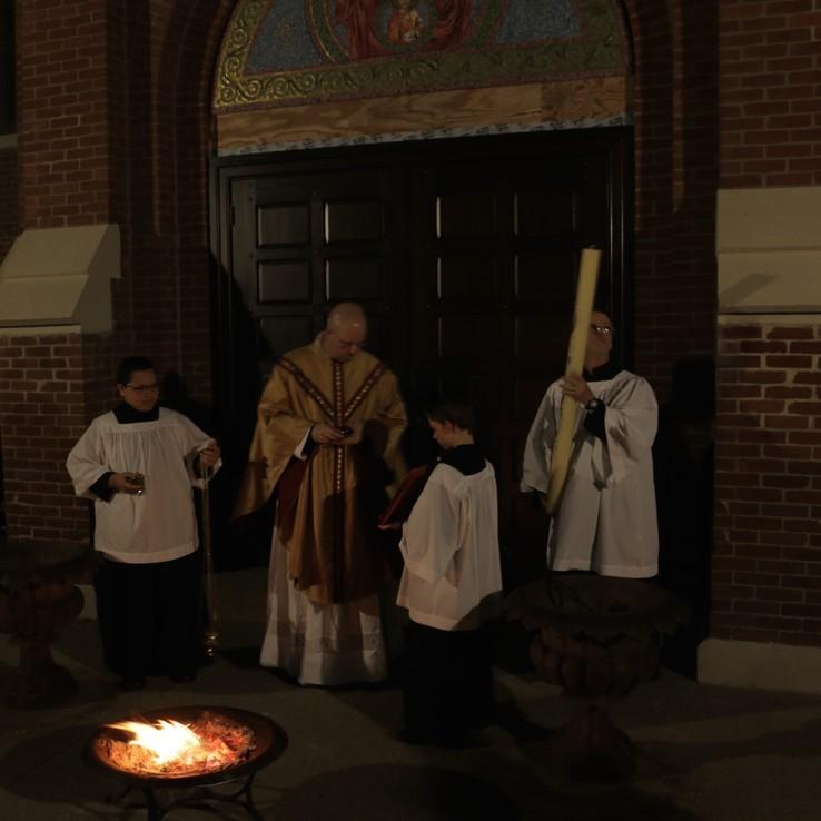 Easter Vigil 2017